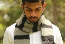 Handmade woolen scarves by Warm Regards