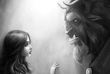 Disney ₳rt / by 💖 Anika Sparrow