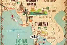 Guiding through... Asia / Tips para viajar por Asia.