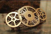 Steampunk - bižu / Steampunkové vlasové doplňky, náušnice, náhrdelníky, prsteny, náramky, brože ...