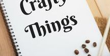 Crafty Things / Dead for craft activities and craft supplies. Things to make.