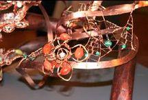 I gioielli in rame / Rame, ideale per gioielli e monili. Bellezza, personalità, eleganza, calore e design.