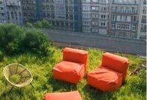 terraces/atriums/patios/roofs