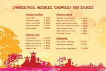 CHINESE RICE, NOODLES, CHOPSUEY & SAUCES / CHINESE Varities of RICE, NOODLES, CHOPSUEY & SAUCES
