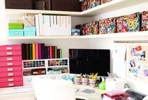 Home work space ... / Inspiring ideas to make it personal and fun!