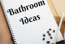 Bathroom Ideas / Ideas for creating the dream bathroom, and for organizing and decorating your current bath.