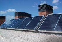 Rame e risparmio energetico / Il rame favorisce il risparmio energetico: ha una eccezionale capacita di condurre calore e trasportare elettricità. Ecco perchè lo vediamo nei fili elettrici e negli scambiatori di calore.