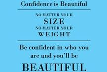 Positive Inspiration / We post articles about body image and self-esteem on i'mperfect but we are interested and inspired by what we find here from others on Pinterest too!