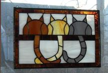 Stained glass / Stained glass projects, ideas and patterns / by Janet Veld