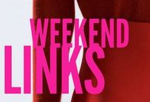 Weekend links / Regular Friday round-up of what I've loved online during the week!