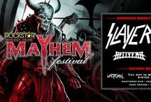 Tickets Giveaway! / We have tickets to giveaway to the hottest Metal Shows in San Diego