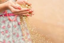 Leave a little sparkle wherever you go! / Sparkling pictures.