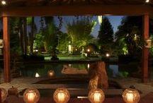 Dreaming of Bali / Balinese Decor, homes and gardens
