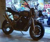 honda nx 650 dominator street tracker / street tracker processing