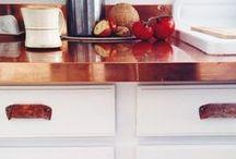 Una cucina in rame / Hai mai pensato al rame per l'arredo della cucina? Lasciati ispirare!