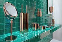 Arredobagno e rame / Dalla vasca al portaspazzolini: ecco il rame per gli accessori e gli arredi del bagno