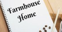 Farmhouse Home / Farmhouse style home decor, furniture, lighting, fixtures, dishes, rugs, products, ideas.