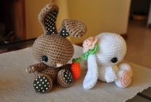 Amigurumi to Crochet / Taught myself to crochet.  Can't wait to make all of these cute little animals. / by Sherily Toledo's Talents