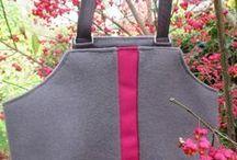 new designed handbags / tassen op basis van restant meubelstoffen