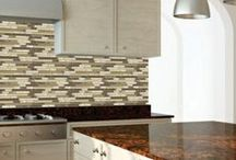 Mosaics / A portion of mosaics in stock at TSW, LLC in Merriam, Kansas.