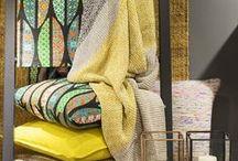 Textiles  |  Fabrics / fabrics, cushions, rugs, textiles, tissus