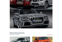 web design - cars