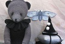 Crochet Creatures / Hand crocheted animals