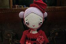 Handmade dolls / A doll is a model of a human being, often used as a toy for children. Dolls have traditionally been used in magic and religious rituals throughout the world, and traditional dolls made of materials such as clay and wood are found in the Americas, Asia, Africa and Europe.