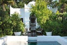 Jardins • Terrasses • Balcons / deco outdoor, gardens, jardin, terrasse, veranda, dehors, balcon, patios