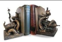 Book Ends / A collection of interesting book ends.