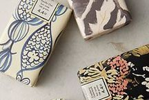 Pretty Packaging / Pretty, interesting, unusual, clever packaging to catch the customer's eye.