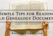 Handwriting in genealogy / how to decipher handwriting for genealogy and family history