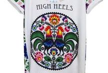 T-shirts Koszulki Folk Koko Swag