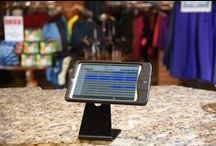 Teesnap Takes you Mobile / With Teesnap you are not confined to your counter!  Move about the pro shop, interact with guests.  Check in guests at the bag drop, service them in the lobby....