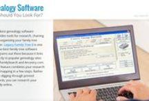 Genealogy Software databases