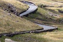 Roadtrips / Reisen mit dem Auto finden auf dieser Roadtrip-Pinnwand ihren Platz