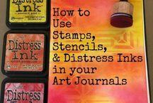 Mosaic magazine and tutorials for clay art