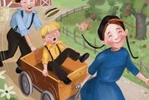 Amish-themed Books for Children / by Wanda Brunstetter