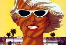 Vintage Travel Inspiration / Finding the visual wealth on the vast world of the travel industry ads from the past.