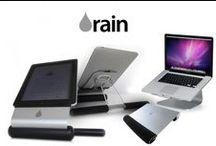 Rain Design / Hayatımızı kolaylaştıran birbirinden şık tasarımlarıyla Rain Design, çalışma masalarınızı renklendiriyor.