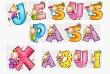 JESUSPASAXAQUI / MATERIAL DE CATEQUESIS PARA NIÑOS  IDEAS CREATIVAS PARA VIVIR UNA EXPERIENCIA POSITIVA DE LA FE EN FAMILIA. jesuspasaxaqui.blogspot.com  / by JESUS PASA X AQUI .