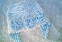 Crochet hats - baby & child