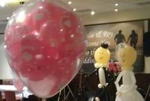 Ballloons for Weddings / Different designs using balloons for your special day