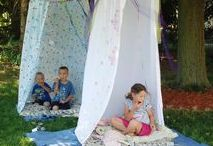Summer camp at home / Creative ideas for making your own Summer camp at home with the littles.
