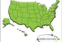 Locations We Service / Here you will find the states that we service and the office locations within those states. We offer clutter, hoarding, foreclosure, and commercial cleaning in over 28 states. Here are a few of our locations.