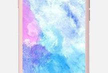 Casetify.com, Thekase.com / luizavictorya72 cases for sale.    poligonal, geometric, background, trendy modern, geometric,  geometry,  mosaic, poligons, geometrical, Iphone6,  phone cases, watercolor, watercolour, shine, shiny, light, floral, animals, abstract, birds, fauna