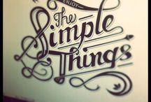 Typography / Letterings i fancy
