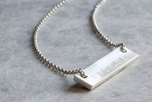 Engraved Necklaces / Engraved Necklaces