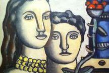 ART - Léger, Fernand / Français, 1881-1955 - À la blague, on le disait «tubiste» / by denis pinsonnault