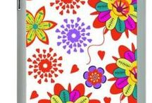 My collection in Swaii.fr / cases, floral patterns, flowers, abstract, colorful, geometric, geometry, watercolor, watercolour, handmade, craft, tablets, smartphone, mini tablet, animals